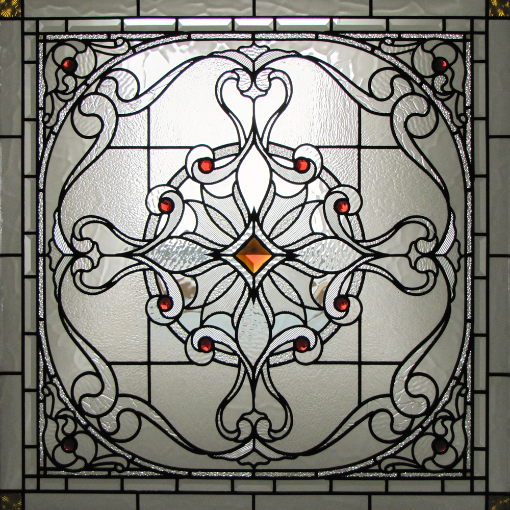 how to change a stained glass window