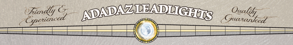 Adadaz Leadlights - Decorative Glass, Leadlights and Stained Glass Design, Restoration, Installation and Repairs